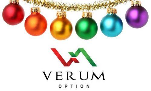 Новогодняя акция «90+10» от Verum Option