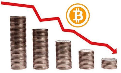 Курс Bitcoin упал до 10 тысяч долларов